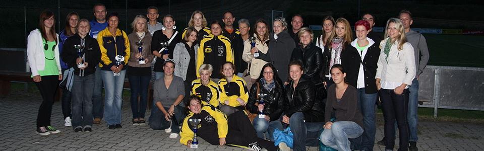 Siegerehrung im Cup 2009/2010